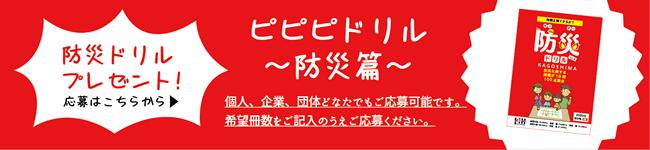 ピピピドリル防災編