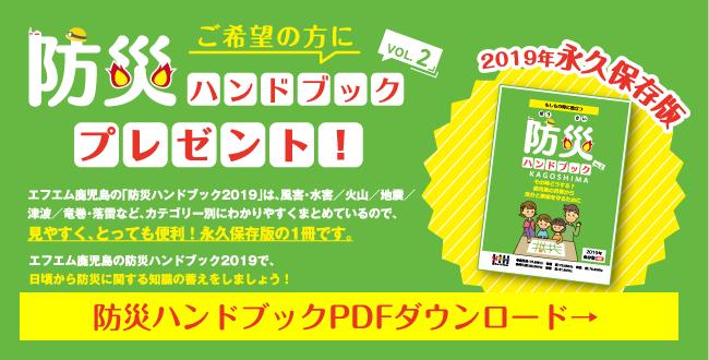 防災ハンドブック 2019PDFダウンロード